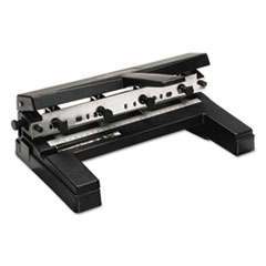 Swingline 74450: 40-Sheet Two-To-Four-Hole Adjustable Punch, 9/32 Holes, Black
