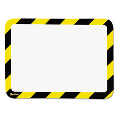 Tarifold P194944: High Visibility Safety Frame Display Pocket-Magnet Back, 10 1/4 x 14 1/2, Yw / bk