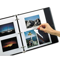 C-Line 85050: Redi-Mount Photo-Mounting Sheets, 11 x 9, 50 / box