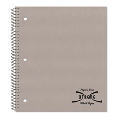 National Brand 33709: Single-Subject Wirebound Notebooks, 1 Subject, Medium / College Rule, Assorted Color Covers, 11 X 8.88, 80 Pages