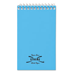 National Brand 31120: Wirebound Memo Book, Narrow Rule, 3 x 5, White, 60 Sheets