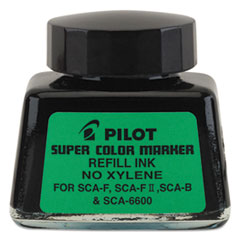 Pilot 43500: Jumbo Marker Refill Ink, for Permanent Markers, 1 Oz Ink Bottle, Black