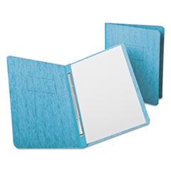 Oxford 12701: Pressguard Report Cover, Prong Clip, Letter, 3 Capacity, Light Blue