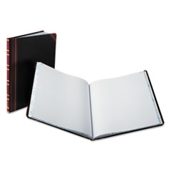 Boorum & Pease 16021215F: Record Ruled Book, Black Cover, 150 Pages, 10 1/8 x 12 1/4