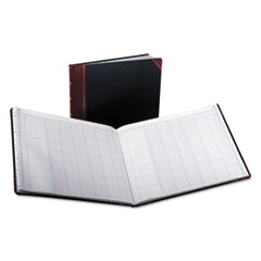 Boorum & Pease 2115012: Columnar Accounting Book, 12 Column, Black Cover, 150 Pages, 8 1/8 x 10 3/8