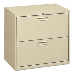 HON 572LL: 500 Series Two-Drawer Lateral File, 30W X 18D X 28H, Putty