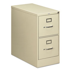 HON 212PL: 210 Series Two-Drawer Full-Suspension File, Letter, 15W X 28.5D X 29H, Putty