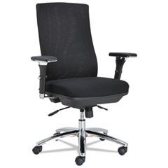 Alera EY4114: Alera Ey Series Mesh Multif Chair, 24.38W X 23.25D X 42.5 To 47.25H, Black
