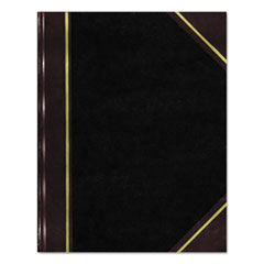National Brand A45300: National Texhide Notebook 300 Pages Sewn College Ruled Ruled 9 1/4 x 6 9.3 x 7.3 White Paper Black, Burgundy Cover Ribbon Marker, Bookmark, Archival-safe, Heavyweight, Acid-fr..