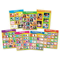 Carson-Dellosa 144131: Early Childhood Learning Charlet Set 17 Width x 22 Height