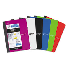Mead Five Star 09120: Composition Book, Medium / College Rule, Assorted Cover Colors, 9.75 X 7.5, 100 Sheets