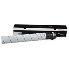 Lexmark 64G0H00: 64G0H00 Return Program High-Yield Toner, 32,500 Page-Yield, Black