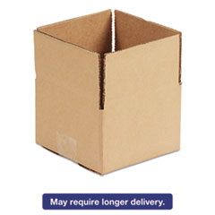 United Facility Supply 10103: Brown Corrugated Fixed-Depth Shipping Boxes, 10l x 10w x 3h, 25 / bundle