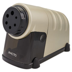 X-Acto 1606: High-Volume Commercial Desktop Electric Pencil Sharpener, Beige