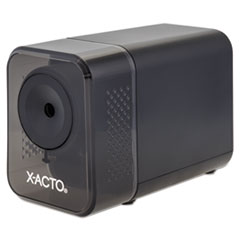 X-Acto 1818: Xlr Office Electric Pencil Sharpener, Ac-Powered, 3 X 5.5 X 4, Charcoal Black