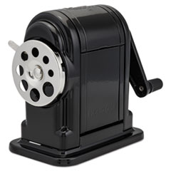 Boston 1001: Ranger 55 Classroom Manual Pencil Sharpener, Manual, 3.25 X 6 X 5.5, Black