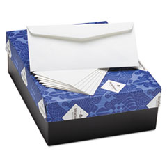 Strathmore M02287: Writing 25 Cotton Business Envelopes, 10, Bankers Flap, Gummed Closure, 4.13 X 9.5, Bright White, 500 / Box