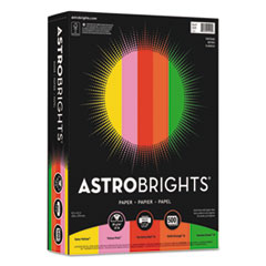 Astrobrights 21224: Color Paper - Vintage Assortment, 24Lb, 8.5 X 11, Assorted Vintage Colors, 500 / Ream