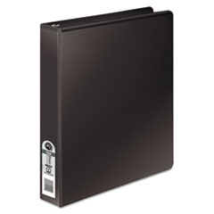 Wilson Jones 36214B: Wilson Jones Basic Round Ring View Binder, 1, Black 1 Binder Capacity Letter 8 1/2 x 11 Sheet Size 175 Sheet Capacity 3 x Round Ring Fastener s 2 Internal Pocket s Black..