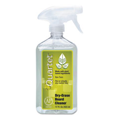 Quartet 550: Whiteboard Spray Cleaner for Dry Erase Boards, 17 Oz Spray Bottle