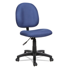 Alera VT48FA20B: Alera Essentia Series Swivel Task Chair, Supports Up To 275 Lbs., Blue Seat / Blue Back, Black Base