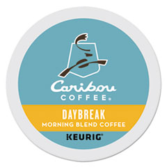 Caribou Coffee 6994: Daybreak Morning Blend Coffee K-Cups, 24 / box