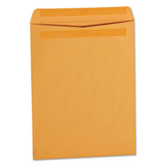 Universal 35292: Self-Stick Open-End Catalog Envelope, 13 1/2, Square Flap, Self-Adhesive Closure, 10 X 13, Brown Kraft, 250 / Box
