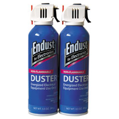 Endust 246050: Non-Flammable Duster with Bitterant, 3.5 Oz, 2 Cans / pack