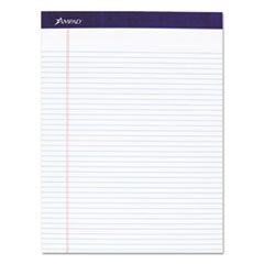 Ampad 20315: Legal Ruled Pads, Narrow Rule, 8.5 X 11.75, White, 50 Sheets, 4 / Pack