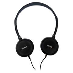 Maxell 190318: Hp-200 Stereo Headphones, Silver