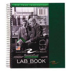 Roaring Spring 77646: Wirebound Lab Notebook, 4 Sq / In Quadrille Rule, 11 X 9, White, 100 Sheets