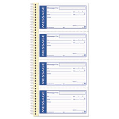 Adams Business Forms SC1153WS: Write n Stick Phone Message Pad, 2 3/4 x 4 3/4, Two-Part Carbonless, 200 Forms
