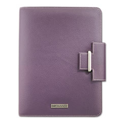 Day Runner 4010214: Terramo Refillable Planner, 8 1/2 X 5 1/2, Eggplant