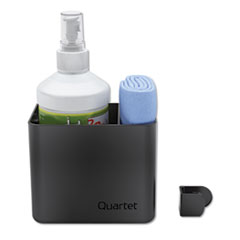 Quartet 85376: Prestige 2 Connects Cleaning Dry-Erase Kit, Caddy, 16 Oz Bottle / Magnetic Cloth