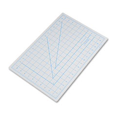 X-Acto X7761: Self-Healing Cutting Mat, Nonslip Bottom, 1 Grid, 12 x 18, Gray
