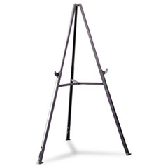 Ghent 19250: Triumph Presentation Easel Plastic, ABS Resin Gray
