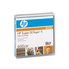 HP Q2020A: Super DLT Tape ll Data Cartridge Super DLTtape II 300 GB Native / 600 GB Compressed 2066 ft Tape Length 1 Pack