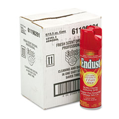 Endust 96291CT: Professional Cleaning Dusting Spray, 15oz Aerosol, 6 / carton
