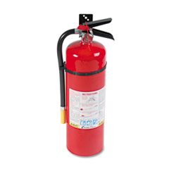 Kidde 466204: Proline Pro 10mp Fire Extinguisher, 4 A, 60 B c, 195psi, 19.52h x 5.21 Dia, 10lb