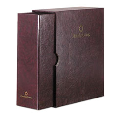 Franklin Covey 19089: Classic Storage Binder Sleeves Statement 5 1/2 x 8 1/2 Sheet Size 7 x Ring Fastener s Burgundy 1.38 lb 1 Each