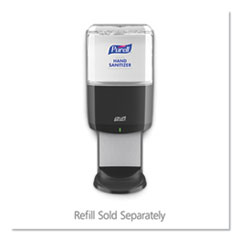 Purell 772401: Es8 Touch Free Hand Sanitizer Dispenser, 1,200 Ml, 5.25 X 8.56 X 12.13, Graphite
