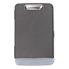 Universal 40319: STORAGE CLIPBOARD with PEN COMPARTMENT, 1/2 CAPACITY, 8 1/2 x 11, BLACK