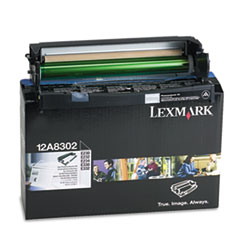 Lexmark 12A8302: 12A8302 Photoconductor Kit, 30,000 Page-Yield, Black