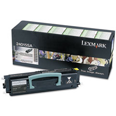Lexmark 24015SA: 24015Sa Return Program Toner, 2,500 Page-Yield, Black