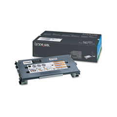 Lexmark C500H2KG: Original Toner Cartridge Laser 5000 Pages Black 1 Each