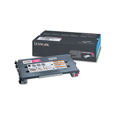 Lexmark C500H2MG: Toner Cartridge Laser High Yield 3000 Pages Magenta 1 Each