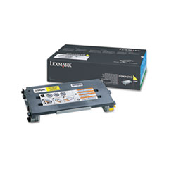 Lexmark C500H2YG: Toner Cartridge Laser High Yield 3000 Pages Yellow 1 Each
