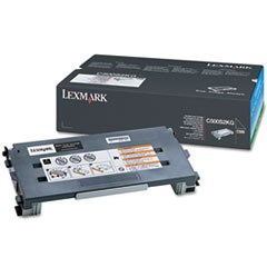 Lexmark C500S2KG: Original Toner Cartridge Laser 2500 Pages Black 1 Each