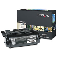 Lexmark X644X11A: X644X11A Return Program Extra High-Yield Toner, 32,000 Page-Yield, Black