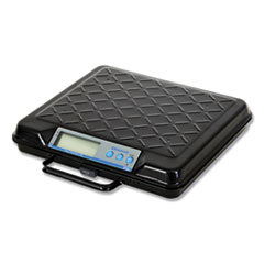 Salter Brecknell GP250: Portable Electronic Utility Bench Scale, 250lb Capacity, 12 x 10 Platform